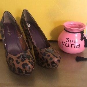 Madden Girl leopard print  Heels